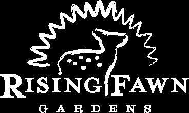 Rising Fawn Gardens logo